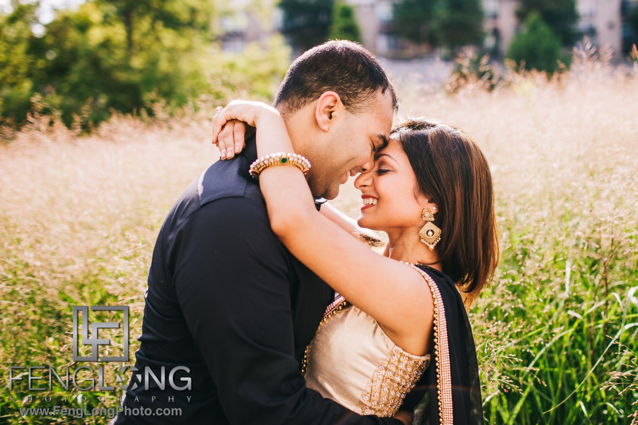 Atlanta Fourth Ward Park Indian Engagement Session