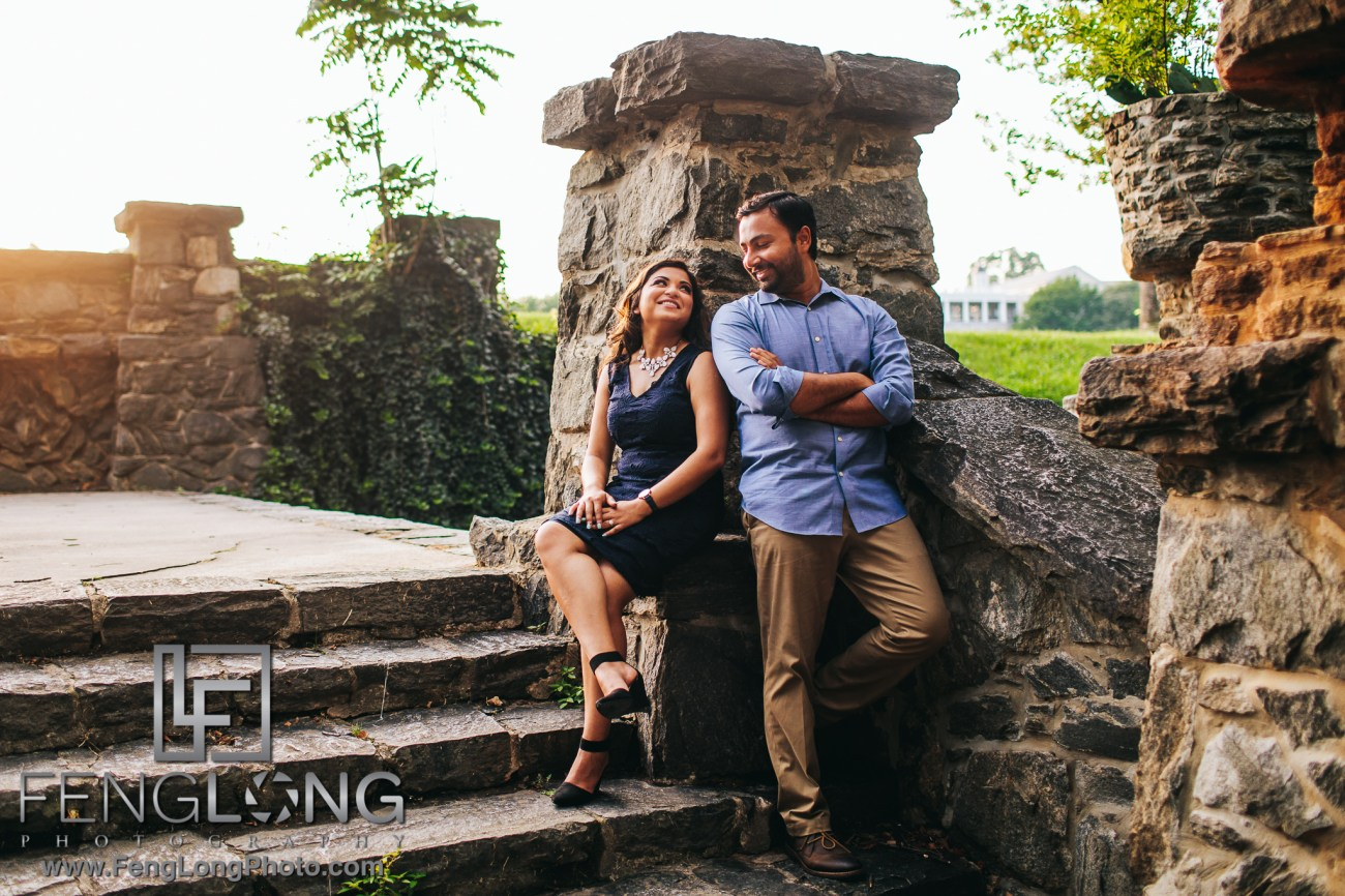 Atlanta Botanical Gardens Engagement Session