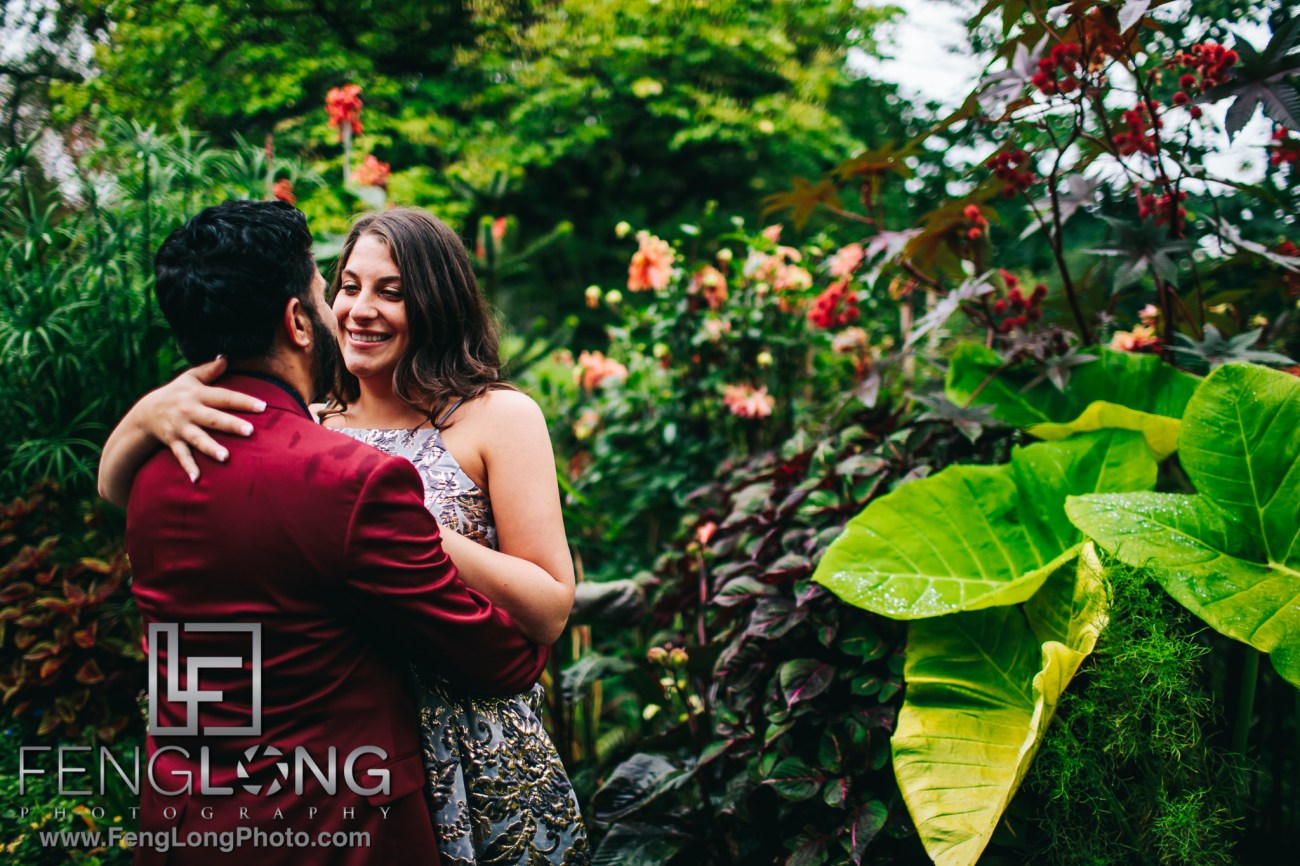 Staten Island PreWedding Shoot at Snug Harbor