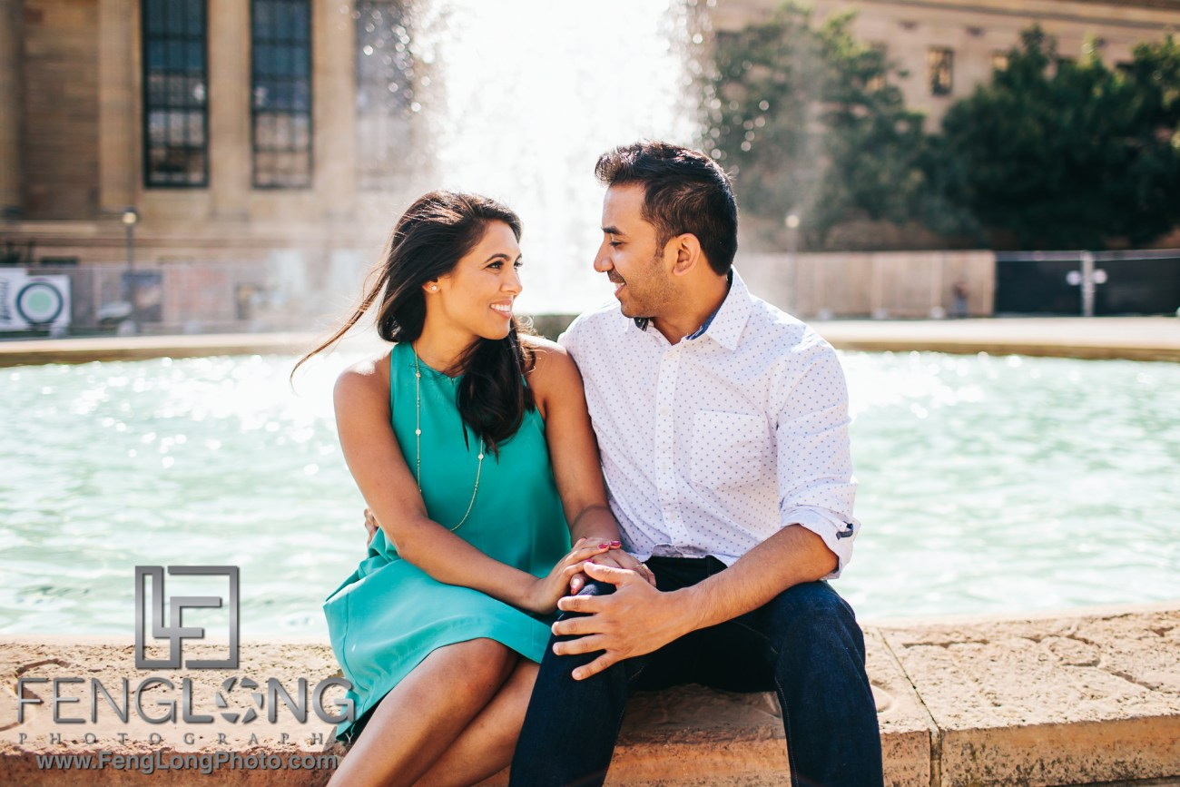 Philadelphia Indian Engagement Session at the Art Museum