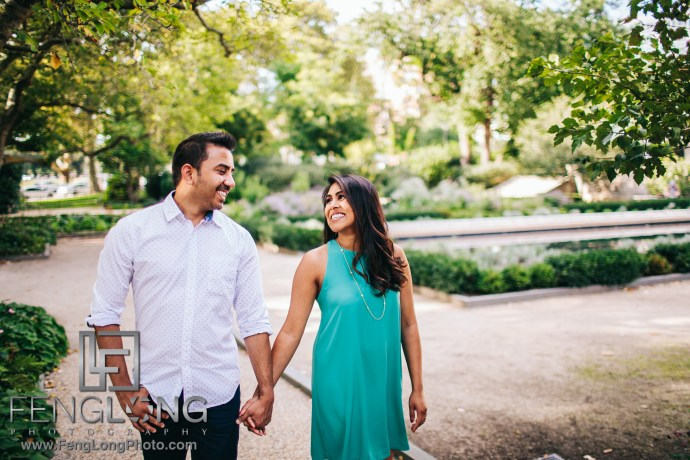 Philadelphia Indian Engagement Session at the Rodin Museum