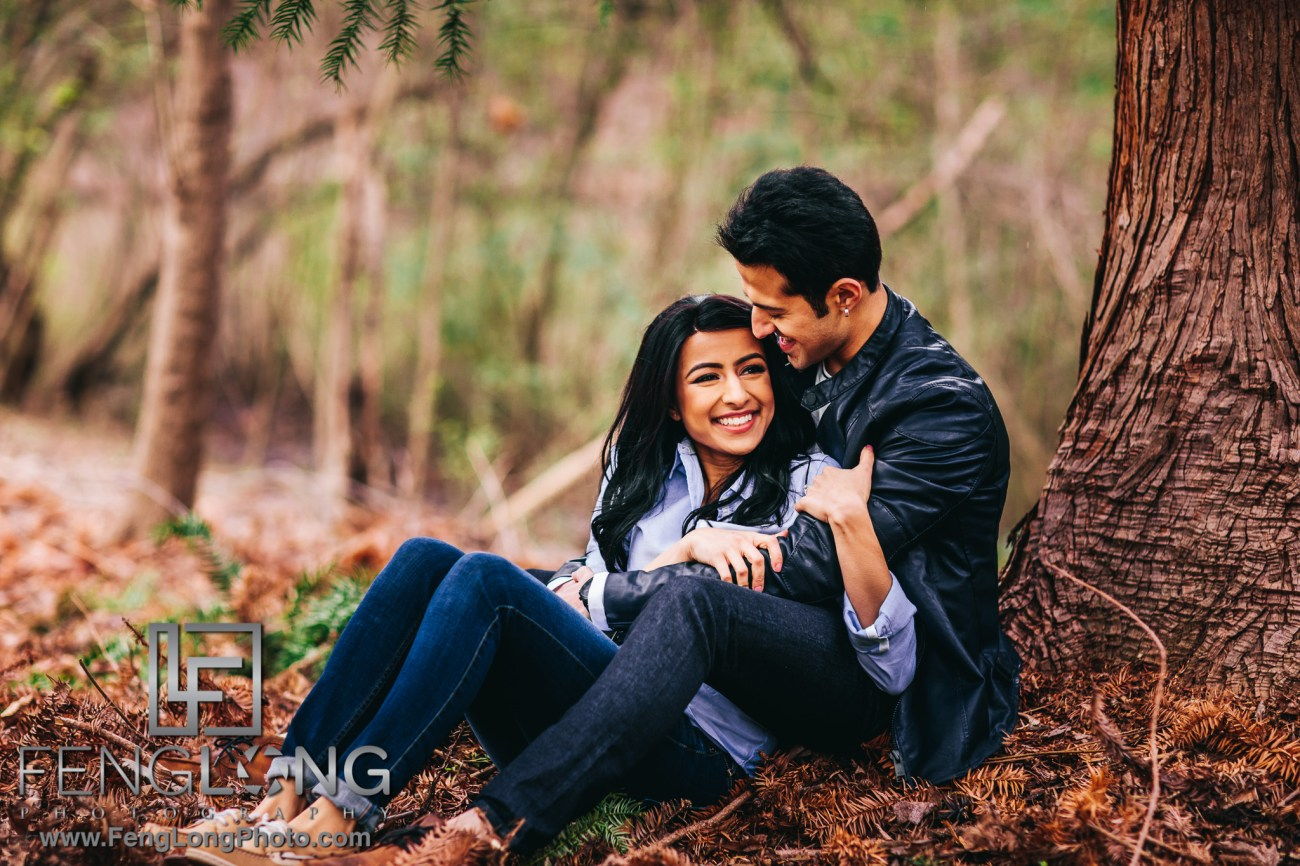 Afsheen Shezan Lullwater Engagement Session