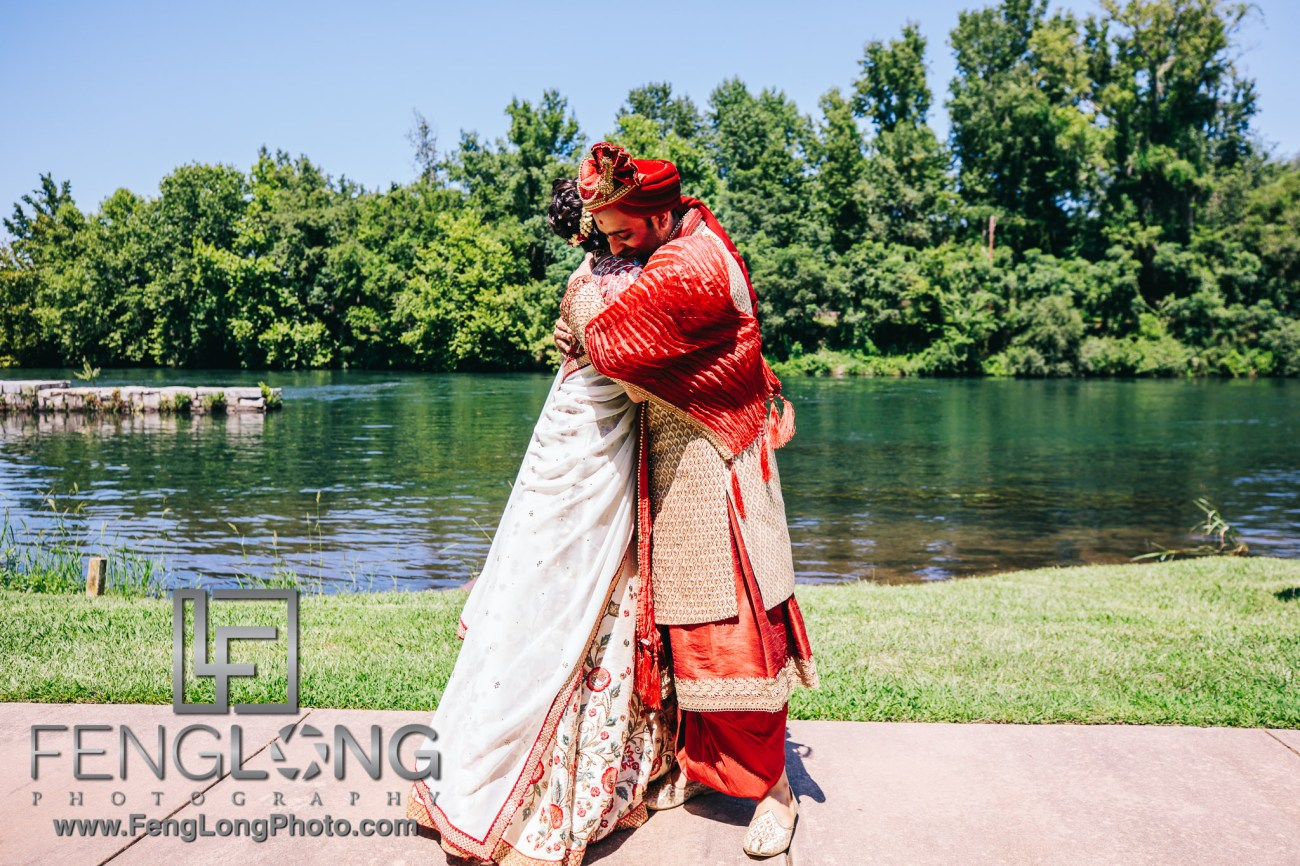 Radha & Nilkanth's Augusta Indian Wedding