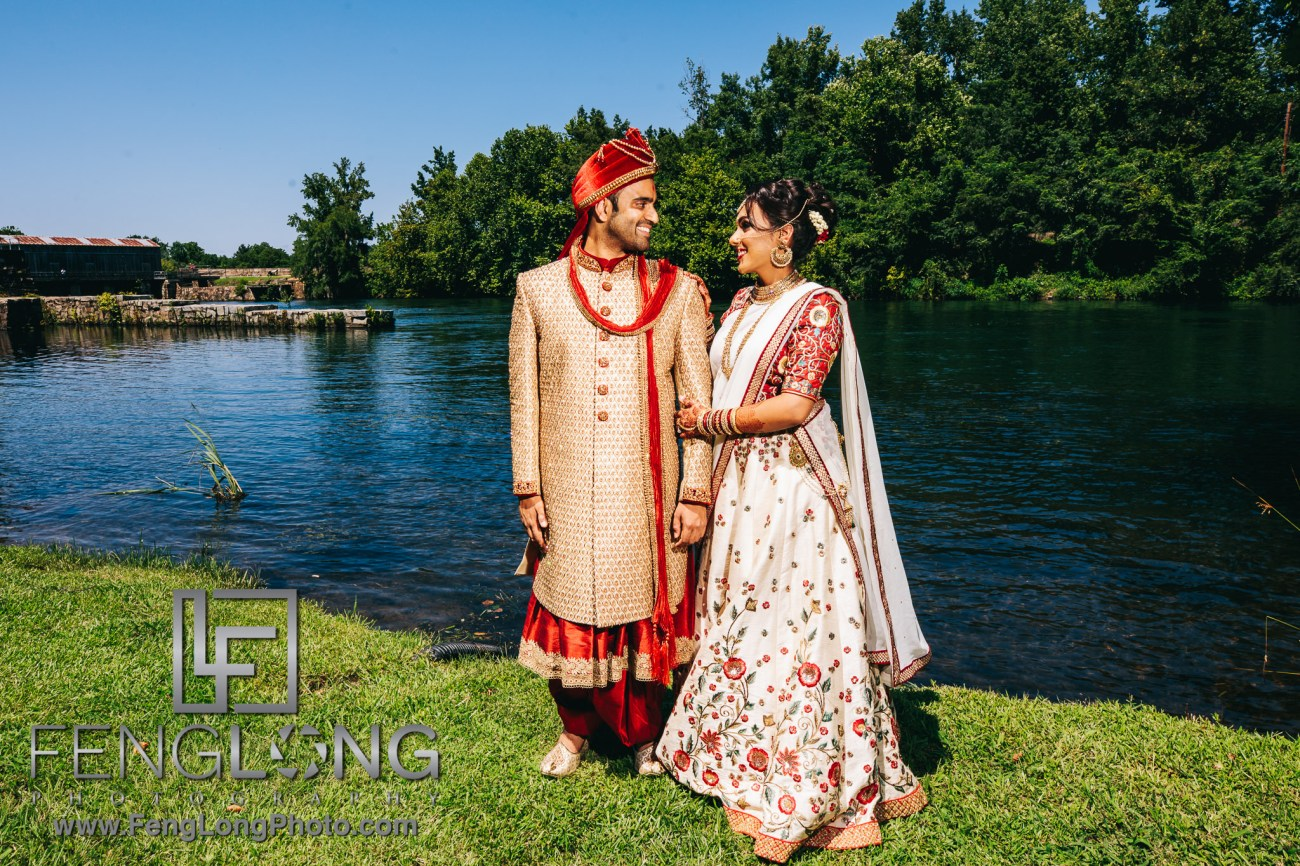 Radha & Nilkanth's Augusta Indian Wedding