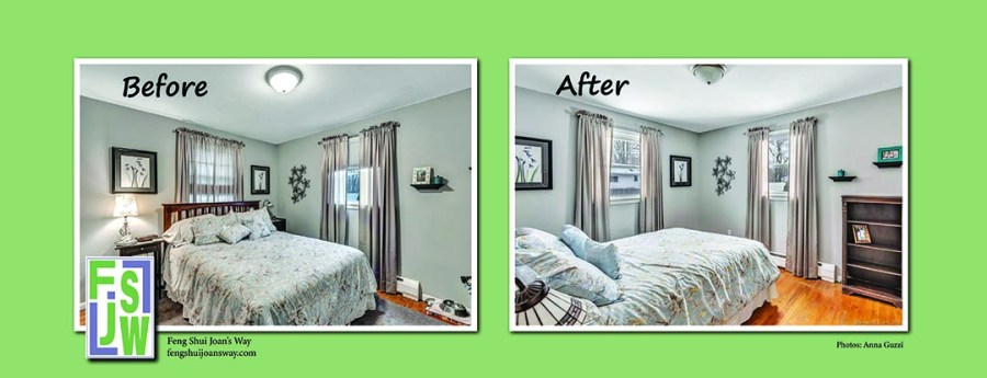 Bedroom Before and After