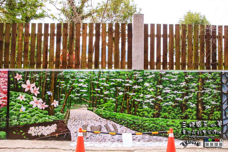 三峡国小【特色小学】|三峡三角涌百年公学校溜滑梯景点;一次可玩三座磨石子溜滑梯 @黄水晶的疯台湾味