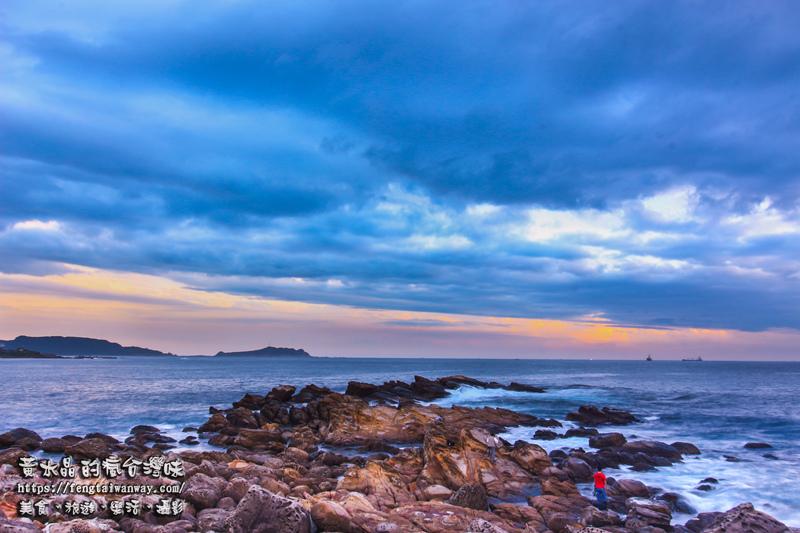 外木山日出【基隆景點】|北台灣最美晨曦之一;拍攝及觀看日出最容易入手點 @黃水晶的瘋台灣味