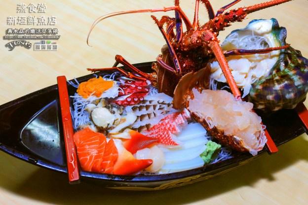 新垣鮮魚店/燕食堂【沖繩南部美食】|沖繩那霸第一牧志公設市場內的現撈龍蝦刺身大餐;國際通內的冰箱。