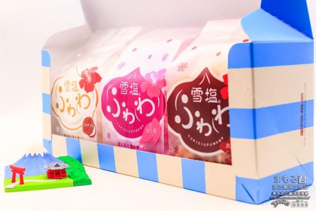 MaxValu(美思佰樂)及雪塩製塩所的まもる君雪塩餅乾【宮古島限定伴手禮】|日本沖繩縣宮古島市的雪塩特色小零嘴。