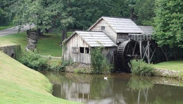 История водяной кузницы
