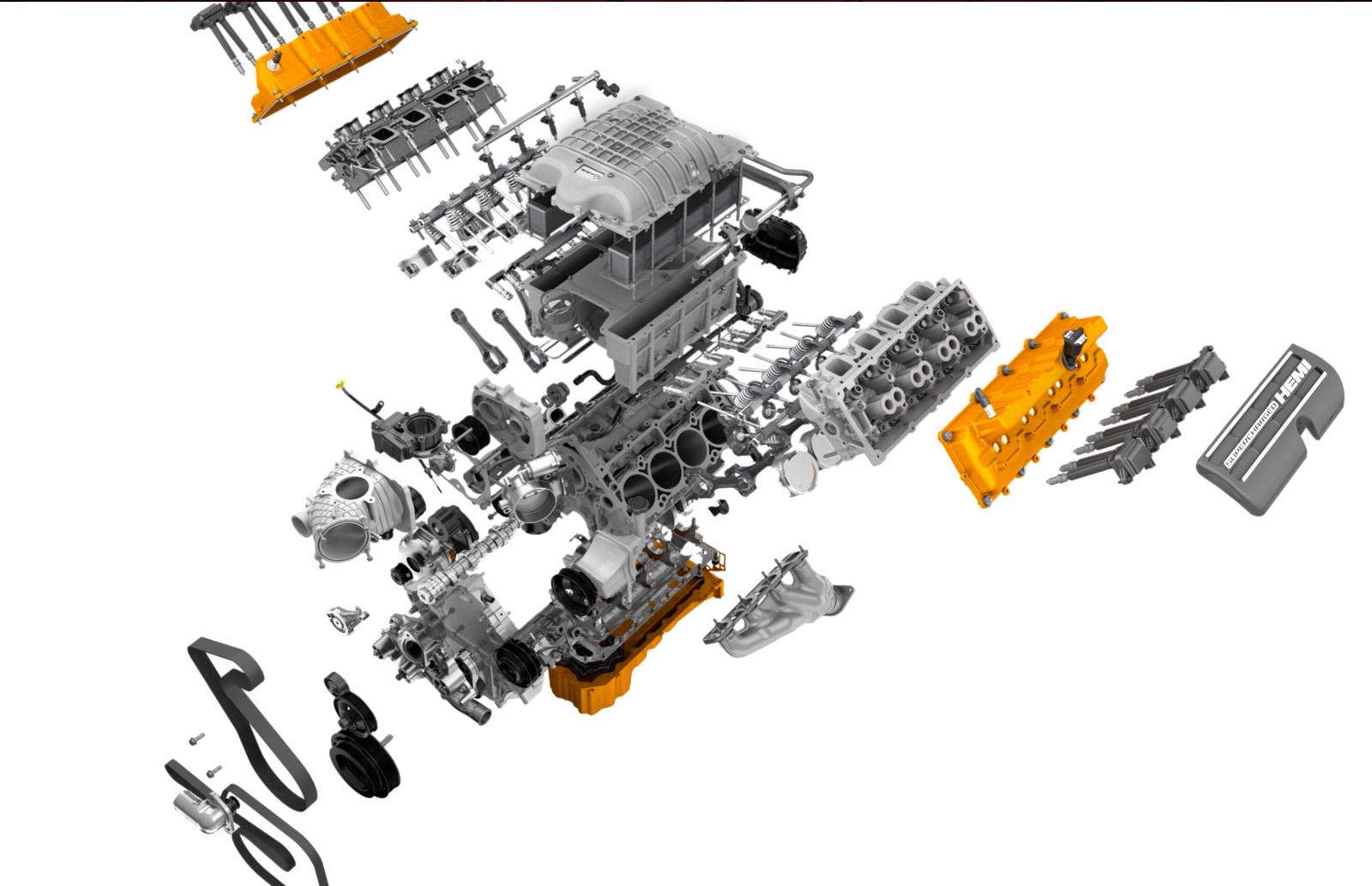 Srt Hellcat V8 6 2l Hemi Supercharged