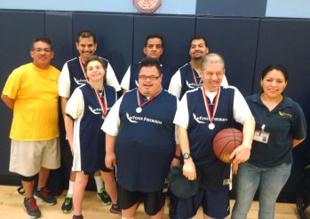 Fenix Group and Special Olympics Basketball Medals