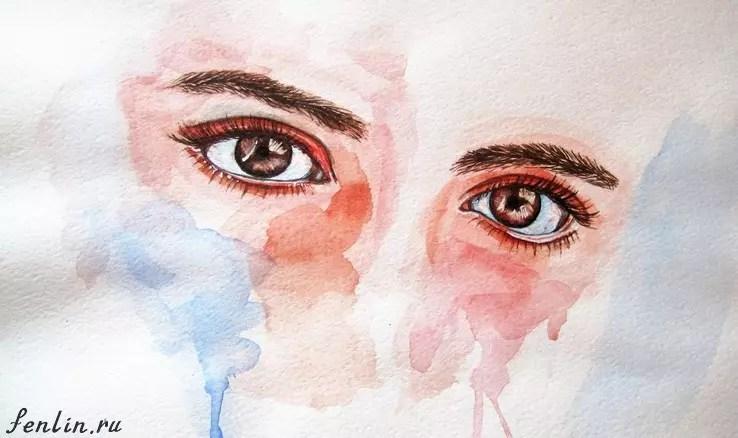 Акварель в живописи. Портреты карандашом - Fenlin.ru