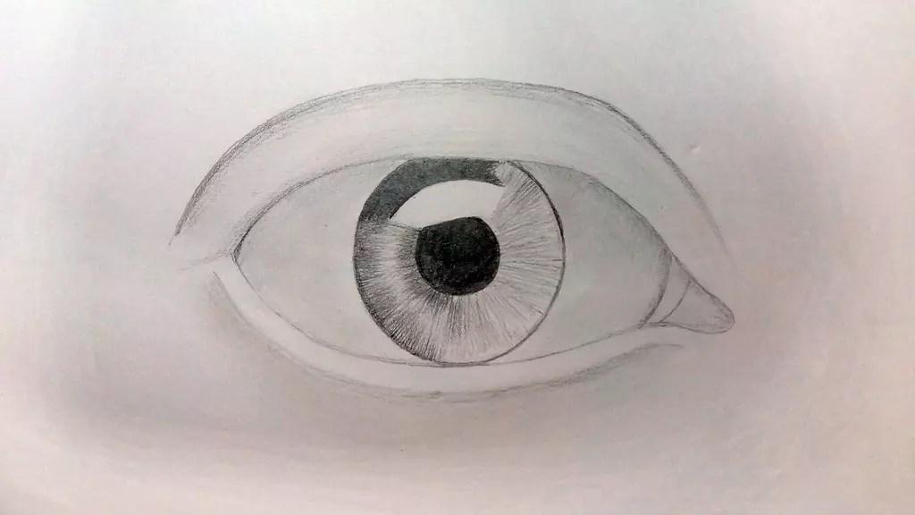 Как нарисовать глаз карандашом? Шаг четвертый. Портреты карандашом - Fenlin.ru