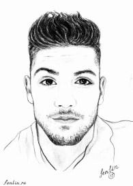 Портрет парня карандашом - Fenlin.ru