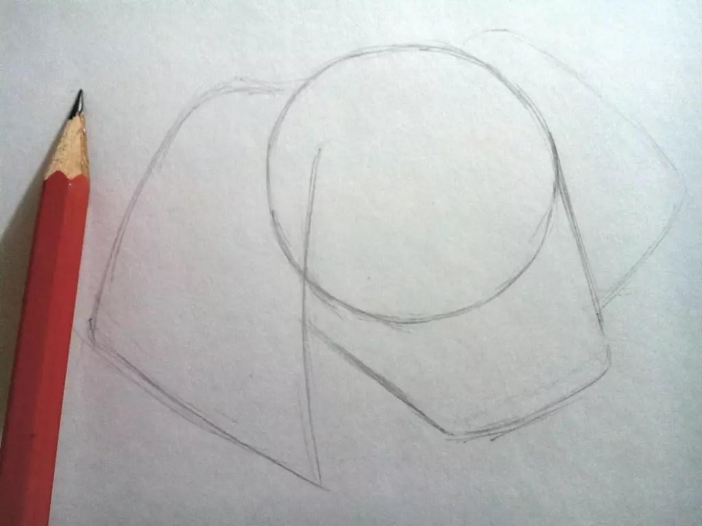 Как нарисовать собаку карандашом? Шаг 2. Портреты карандашом - Fenlin.ru