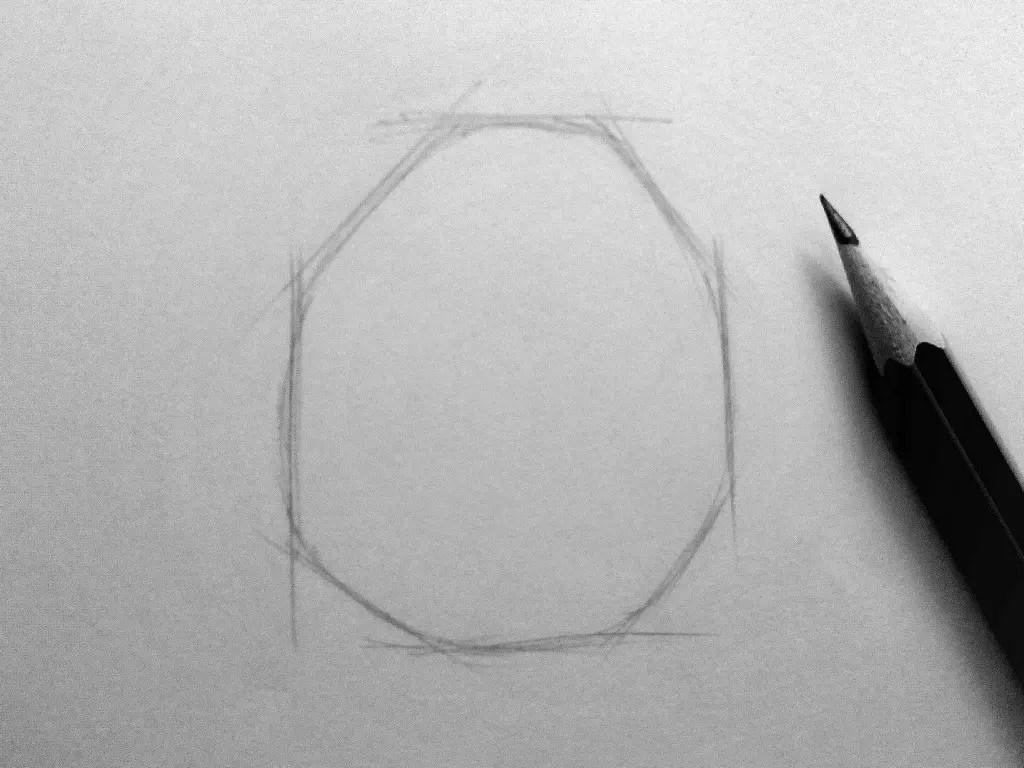 Как нарисовать мышку карандашом? Шаг 1. Портреты карандашом - Fenlin.ru