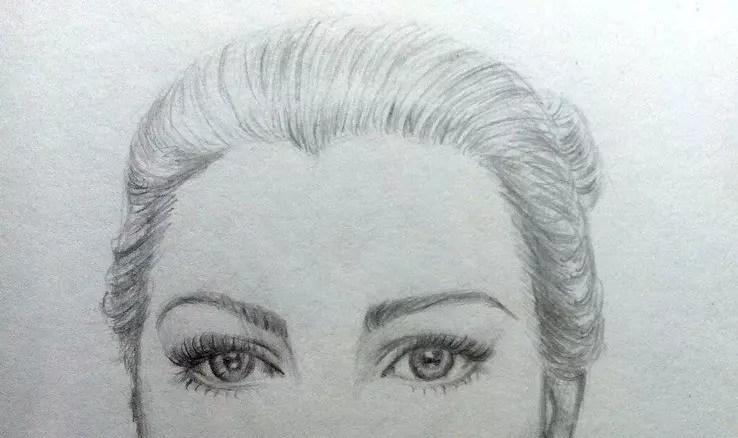 Как нарисовать женский портрет карандашом? Портреты карандашом - Fenlin.ru