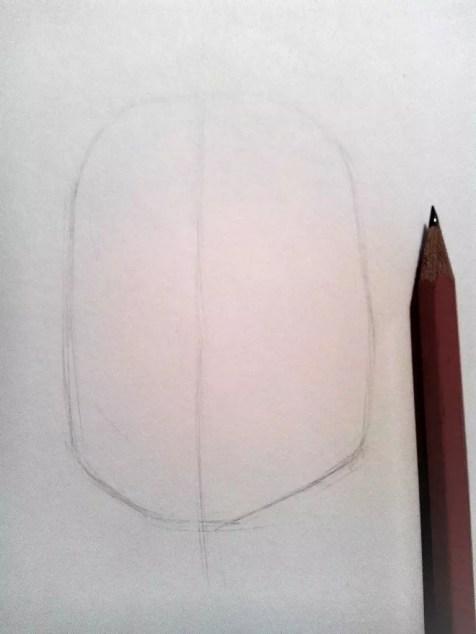 Как нарисовать женский портрет карандашом? Шаг 1. Портреты карандашом - Fenlin.ru
