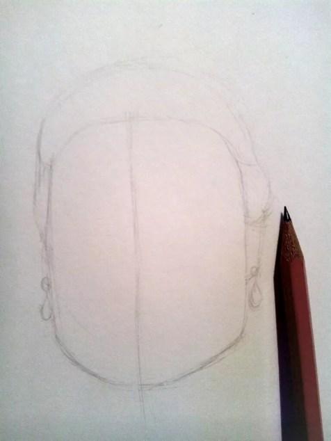 Как нарисовать женский портрет карандашом? Шаг 2. Портреты карандашом - Fenlin.ru