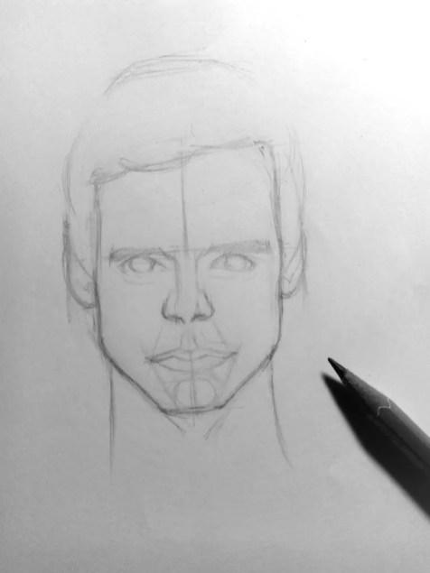 Как нарисовать мужчину карандашом? Шаг 11. Портреты карандашом - Fenlin.ru