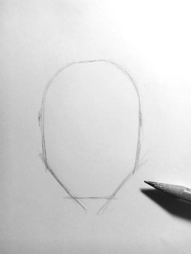 Как нарисовать мужчину карандашом? Шаг 2. Портреты карандашом - Fenlin.ru