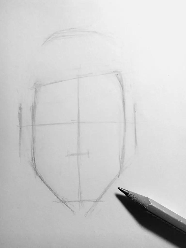 Как нарисовать мужчину карандашом? Шаг 4. Портреты карандашом - Fenlin.ru