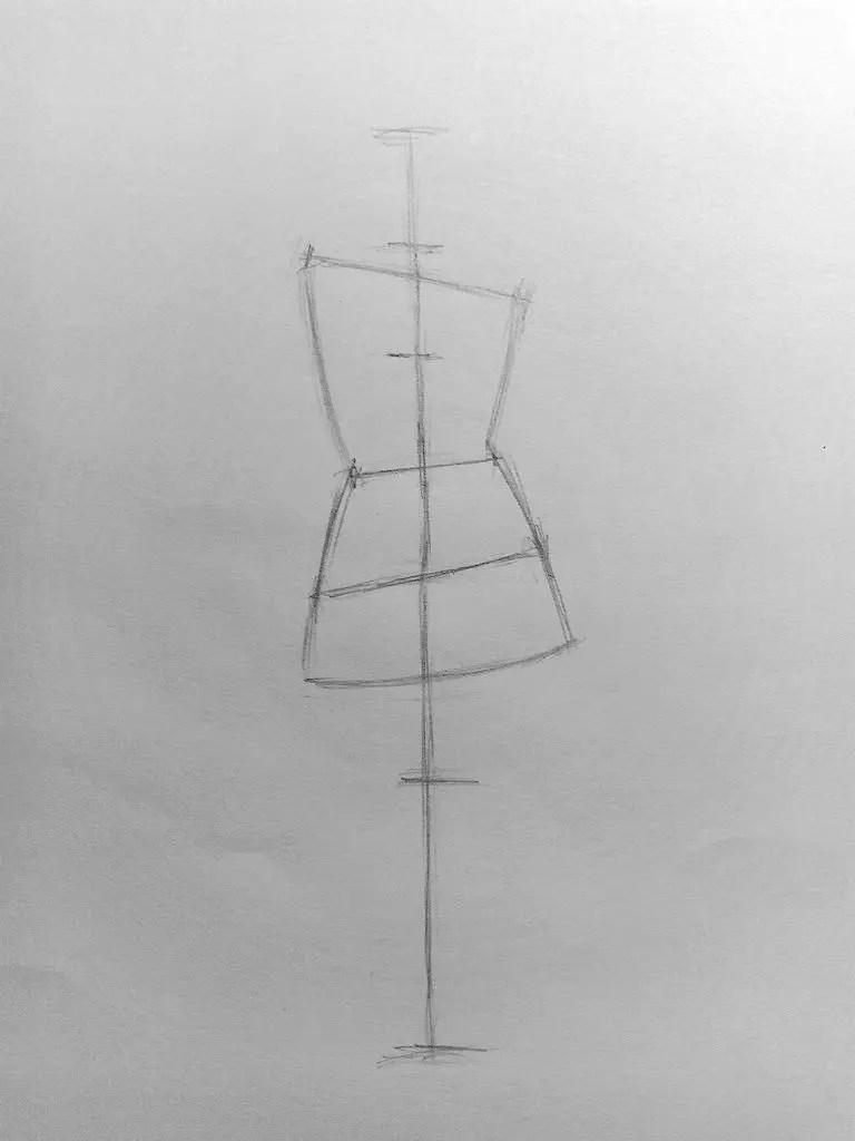 Как нарисовать женщину в полный рост карандашом? Поэтапный урок. Шаг 6. Портреты карандашом - Fenlin.ru