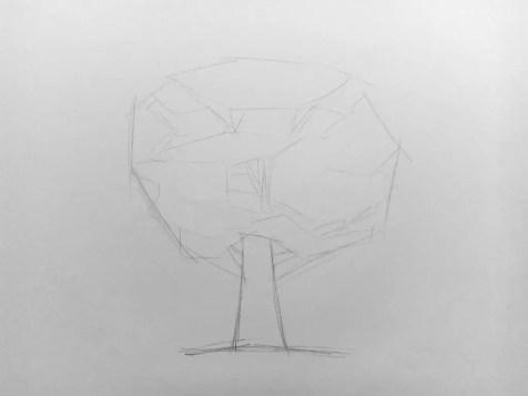 Как нарисовать дерево карандашом? Поэтапный урок. Шаг 4. Портреты карандашом - Fenlin.ru