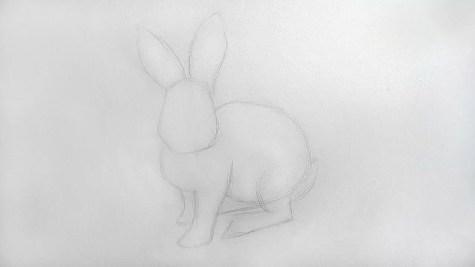 Как нарисовать кролика карандашом? Шаг 7. Портреты карандашом - Fenlin.ru