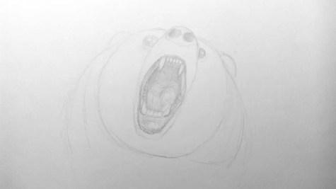 Как нарисовать медведя карандашом? Шаг 9. Портреты карандашом - Fenlin.ru