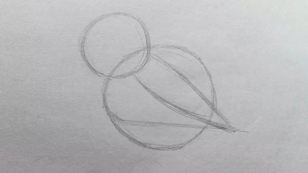 Как нарисовать сову карандашом? Шаг 2. Портреты карандашом - Fenlin.ru