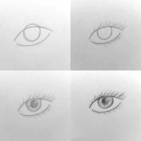 Основы рисования портрета карандашом. Глаз