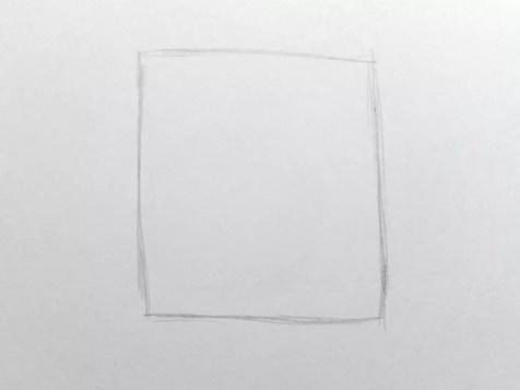 Как нарисовать розу карандашом для детей? Шаг 1. Портреты карандашом - Fenlin.ru