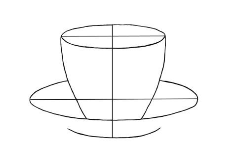 Как нарисовать чашку на графическом планшете? Шаг 5. Портреты карандашом - Fenlin.ru
