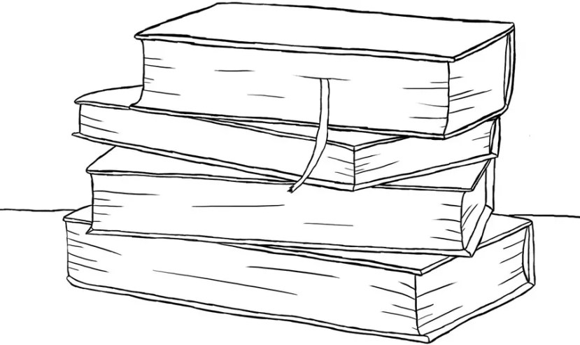 Как нарисовать книги на графическом планшете? Портреты карандашом - Fenlin.ru