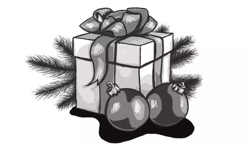 Как нарисовать подарок на новый год? Портреты карандашом - Fenlin.ru