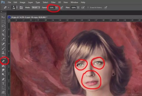 Фотомонтаж в образ с помощью Photoshop (Фотошоп). Шаг 30