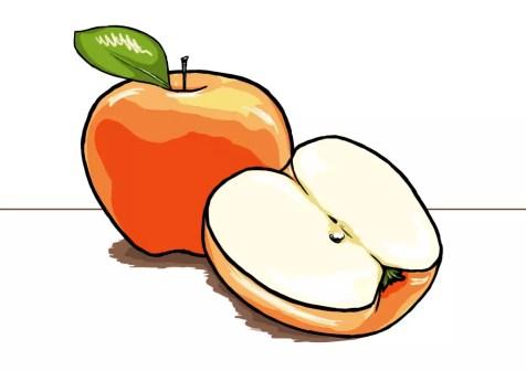 Как нарисовать яблоко? Шаг 15. Портреты карандашом - Fenlin.ru