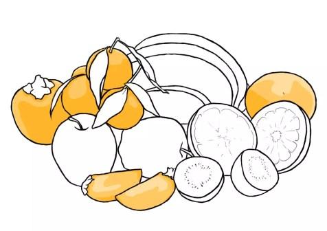 Как нарисовать фрукты? Шаг 10. Портреты карандашом - Fenlin.ru