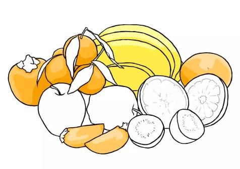 Как нарисовать фрукты? Шаг 13. Портреты карандашом - Fenlin.ru