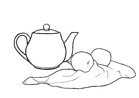 Как нарисовать простой натюрморт? Шаг 10. Портреты карандашом - Fenlin.ru
