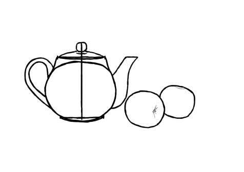 Как нарисовать простой натюрморт? Шаг 7. Портреты карандашом - Fenlin.ru