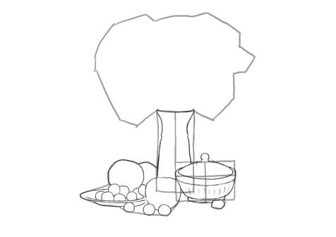 Как нарисовать сложный натюрморт? Шаг 10. Портреты карандашом - Fenlin.ru