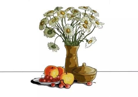 Как нарисовать сложный натюрморт? Шаг 29. Портреты карандашом - Fenlin.ru