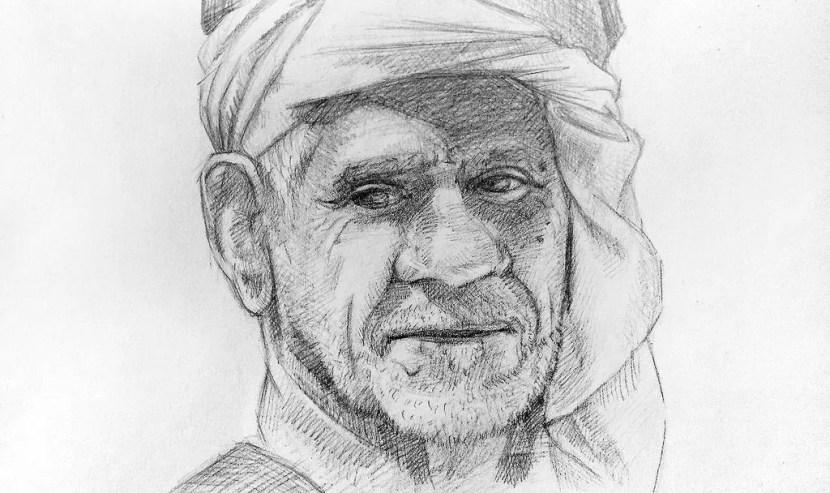 Как нарисовать старика карандашом? Портреты карандашом - Fenlin.ru
