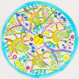 First Crazy Flower-Mandala