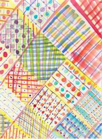 pattern39-aquarelrasterij