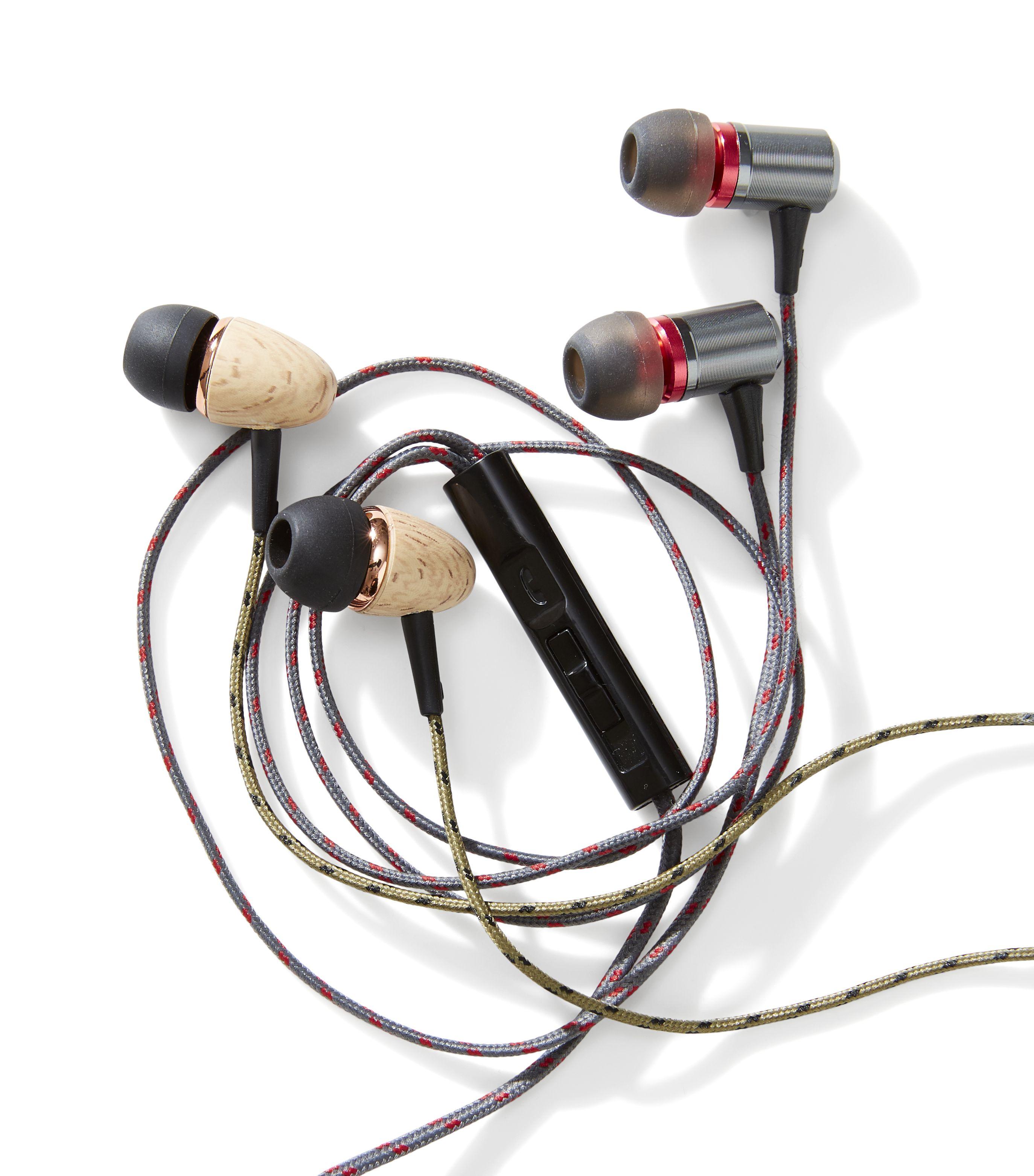 Kmart Titanium or Eco Urban earphones, RRP$12.00 ea