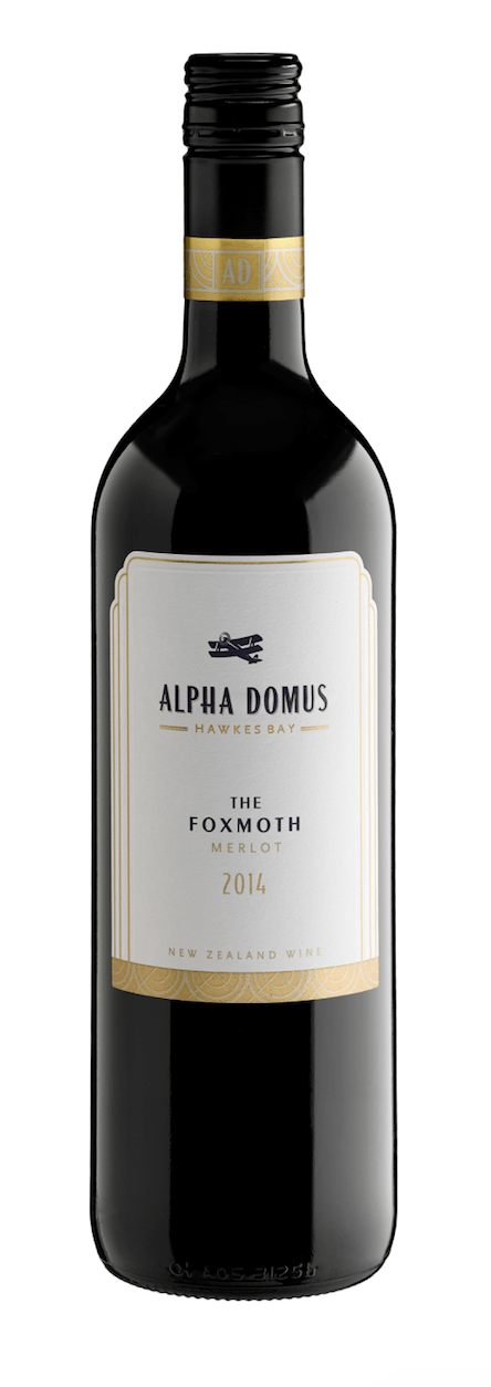 Alpha Domus The Foxmoth Merlot 2014